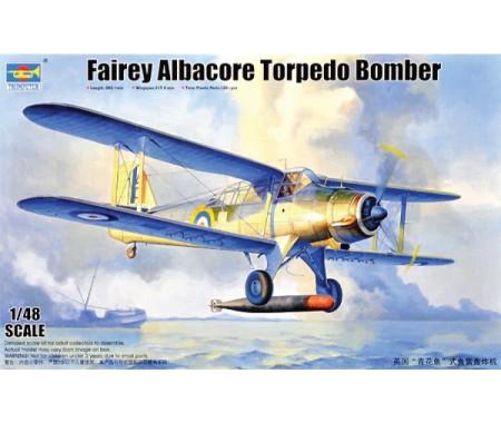 Trumpeter - 02880 - Fairey Albacore Torpedo Bomber  - Hobby Sector