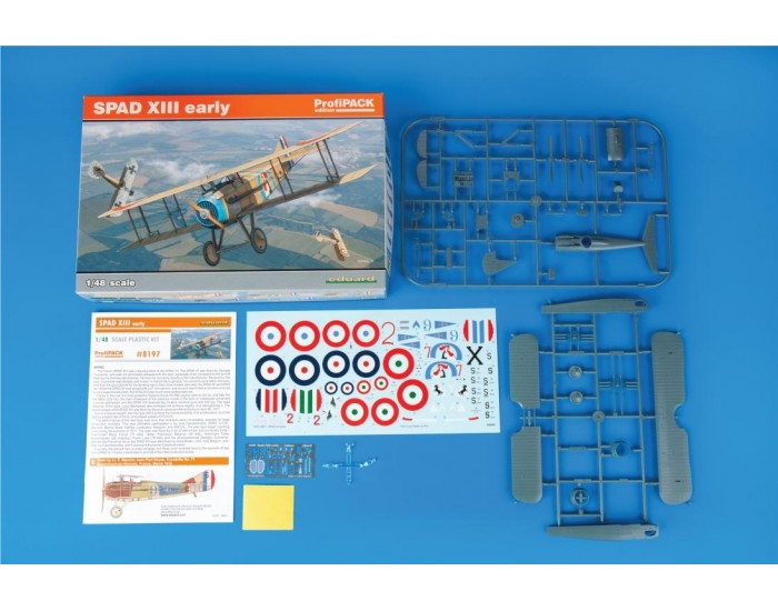 Eduard - 8197 - SPAD XIII early - Profipack Edition  - Hobby Sector