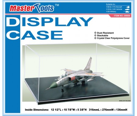 Trumpeter - 09808 - Display Case for Aircraft / Military Vehicle  - Hobby Sector