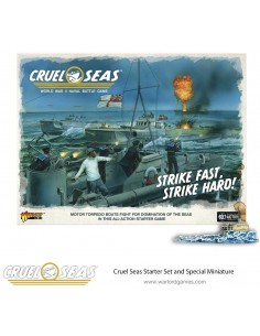 Warlord Games - 781510001 - Cruel Seas Starter Set - Strike Fast, Strike Hard!  - Hobby Sector