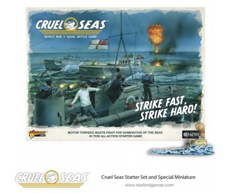 Warlord Games - 781510001 - Cruel Seas Starter Set - Strike Fast, Strike Hard!  - Hobby Sector