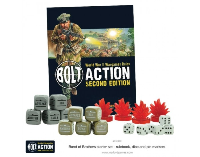 Warlord Games - 401510001 - Band of Brothers - Bolt Action 2 Starter Set  - Hobby Sector