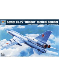 "Soviet TU-22 ""Blinder"" Tactical Bomber"