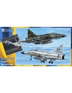 """AJ-37/SK-37 Viggen """"Duo Pack & Book"""""""