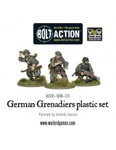 German Grenadiers - WW2 Late War German Infantry