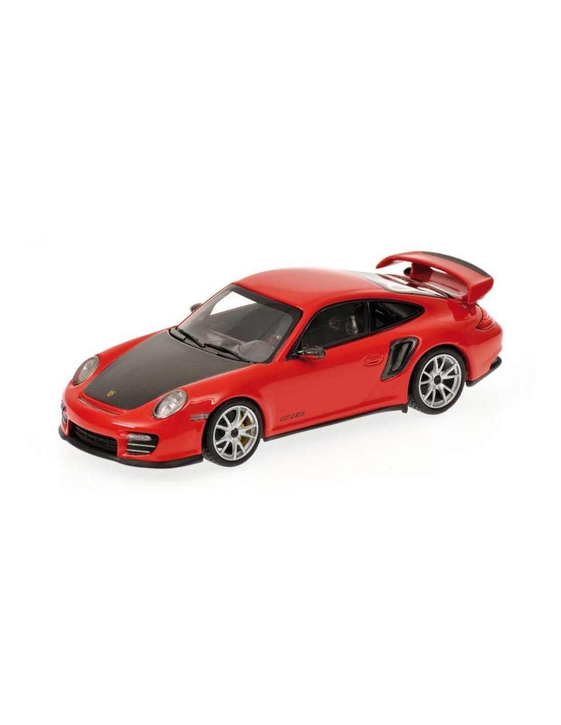 minichamps porsche 911 997 ii gt2 rs 2010 red w silver wheels. Black Bedroom Furniture Sets. Home Design Ideas