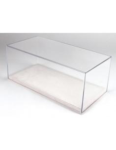 Display Case 1/18 Alcantara White Base