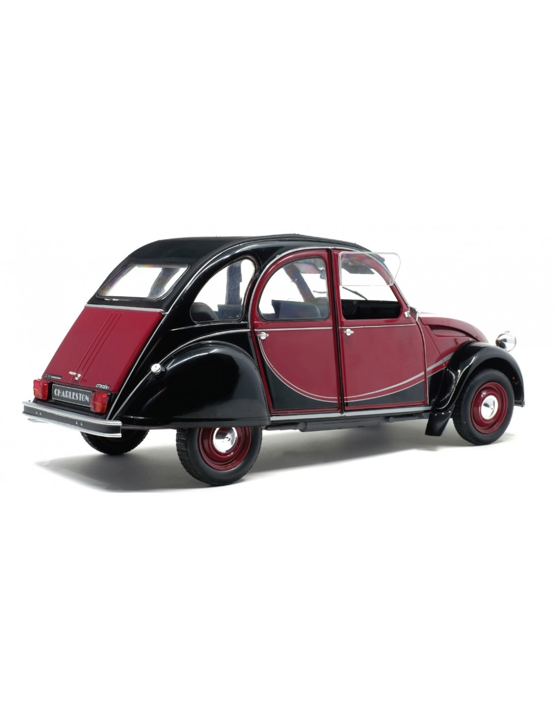 zmodels zmd12001 1  12 citroen 2cv charleston