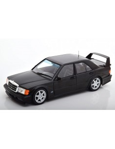 Solido - S1801001 - MERCEDES 190 EVO II - BLACK  - Hobby Sector