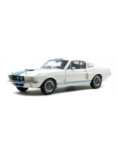 Solido - S1802901 - FORD MUSTANG GT500 1967 White  - Hobby Sector