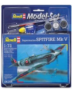 Supermarine Spitfire MK V Model Set