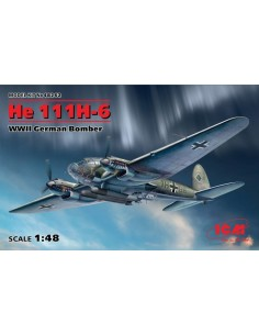 ICM - 48262 - He 111H-6 WWII German Bomber  - Hobby Sector