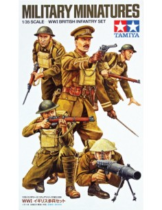 Military Miniatures WWI British Infantry Set