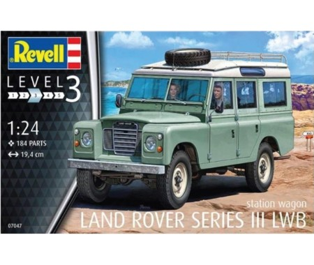 Revell - 07047 - Land Rover Series III LWB Station Wagon  - Hobby Sector