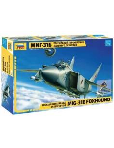 Mig-31B Foxhound Russian Long-Range Interceptor