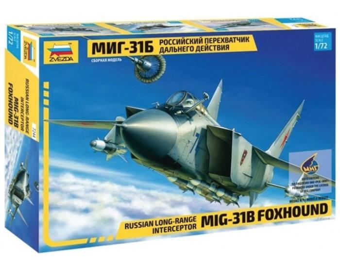 Zvezda - 7244 - Mig-31B Foxhound  - Hobby Sector