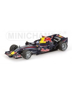 Minichamps - 400080009 - RED BULL RACING RENAULT - RB4 - DAVID COUTHARD - 2008 - RARITY  - Hobby Sector
