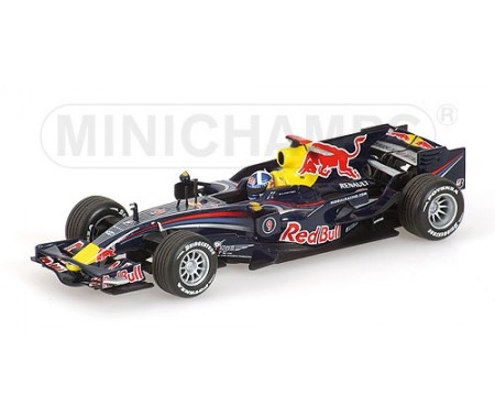 RED BULL RACING RENAULT - RB4 - DAVID COUTHARD - 2008