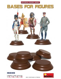 Bases For Figures (Set of 6)