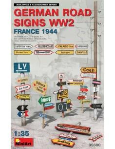 German Road Signs WW2