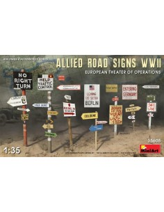 Allied Road Signs WW2