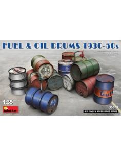 Fuel&Oil Drums 1930-50s