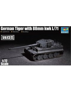 German Tiger with 88mm kwk L/71
