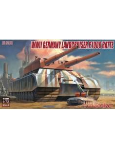 WWII German Landcruiser P.1000 Ratte