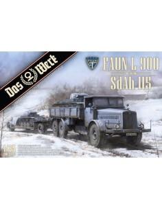Faun L900 including SdAh 115