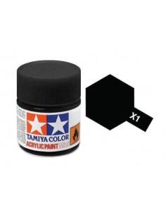 X-1 Black Gloss 23ml Tinta Acrílica