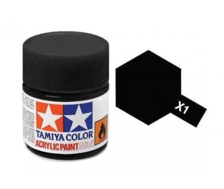 X-1 Black Gloss 23ml Acrylic Paint