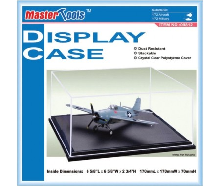 Display Case for Aircraft / Military Vehicle 1/72