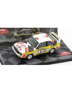 Audi Sport Quattro Rallye Monte Carlo 1985 W. Rohrl / C. Geistdorfer