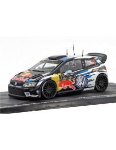 Volkswagen Polo R WRC Rallye Monte Carlo 2016 S. Ogier / J. Ingrassia