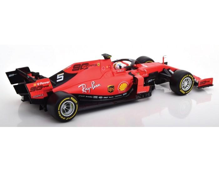 Bburago - 16807V - Ferrari F1 SF90 2019 - Sebastian Vettel  - Hobby Sector
