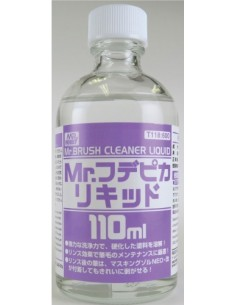 MrHobby (Gunze) - T118 - Mr. Brush Cleaner Liquid 110ml  - Hobby Sector