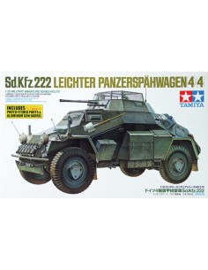 Sd.Kfz.222 Leichter Panzerspahwagen (4x4)