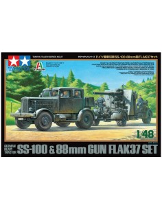 SS-100 & 88mm Gun Flak37 Set