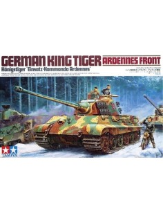 Tamiya - 35252 - German King Tiger Ardennes Front  - Hobby Sector