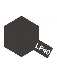 LP-40 Metallic Black 10ml 10ml Tinta Lacquer