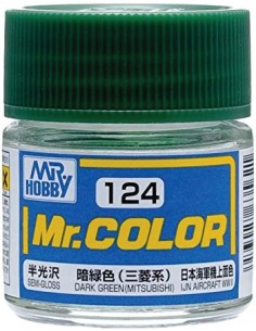 C124 Dark Green (Mitsubishi) - 10ml Tinta Lacquer