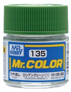 C135 Russian Green (1) - 10ml Tinta Lacquer