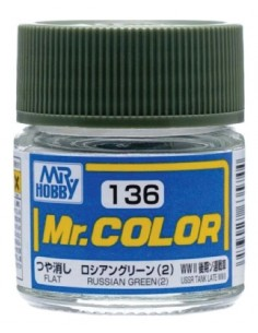 C136 Russian Green (2) - 10ml Tinta Lacquer