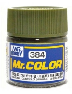 C384 Cockpit Color (Kawanishi) - 10ml Tinta Lacquer