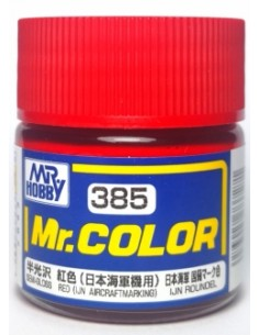 C385 Red (IJN Aircraft Marking) - 10ml Tinta Lacquer