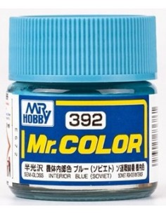 C392 Interior Blue (Soviet) - 10ml Tinta Lacquer