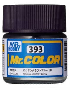 C393 Russian Aircraft Blue 2 - 10ml Tinta Lacquer