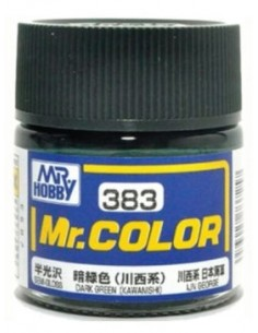 C383 Dark Green (Kawanishi) - 10ml Tinta Lacquer