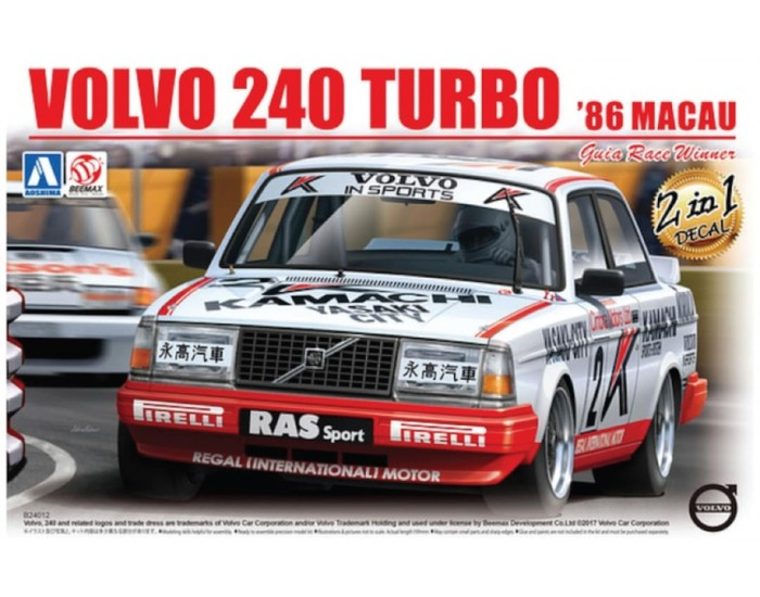 Volvo 240 Turbo '86 Macau Guia Race Winner