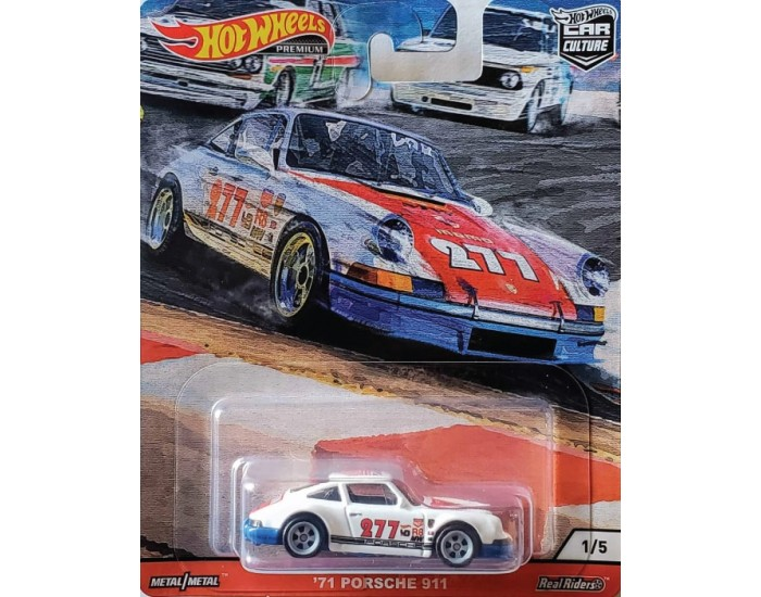 Real Riders '71 Porsche 911 - Door Slammers Series 1/5